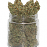Buy Silver Haze Flower Strain-jar-247×296