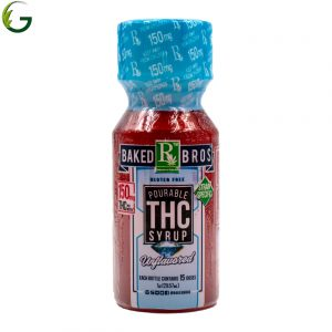 Order Baked Bros Syrup – Unflavored Indica THC 300mg